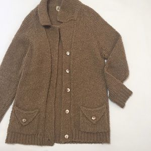 Vintage buttoned cardigan